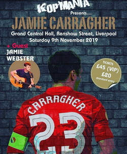 Image of an evening with Jamie Carragher